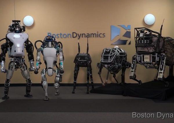 Boston Dynamics, Robotik, Fabrika Düzeni, Test Ekipmanları, Robot Yapımı